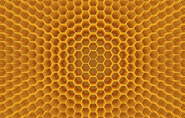 Picture background, abstraction, Wallpaper, color, Cell, honey, the volume, figure