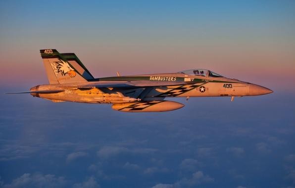 Photo wallpaper weapons, FA-18E, the plane