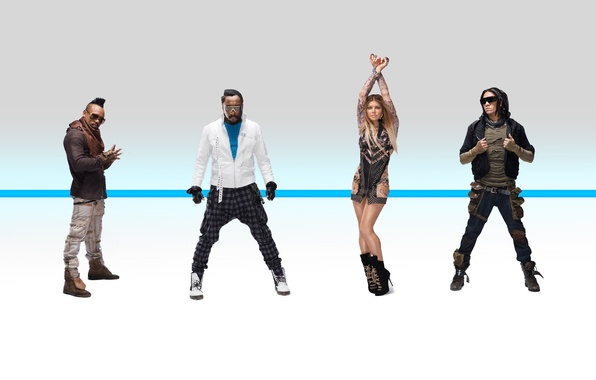Picture Fergie, The Beginning, Will.i.am, Black Eyed Peas, Apl.of.ap, Taboo