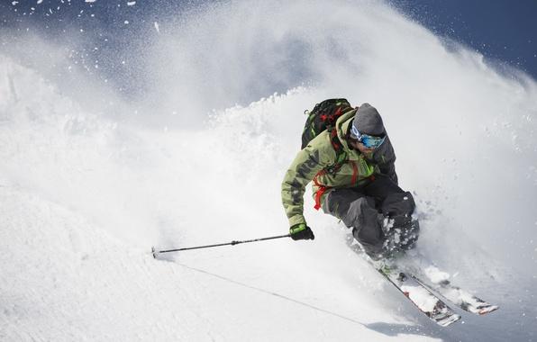 Picture mountains, ski, freeride, freeride, backcountry, armada, Freerider, Backcountry