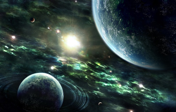 Picture Stars, Earth, Planet, Planets, Nebulae, Stars, Space, Earth, Rings, Sun