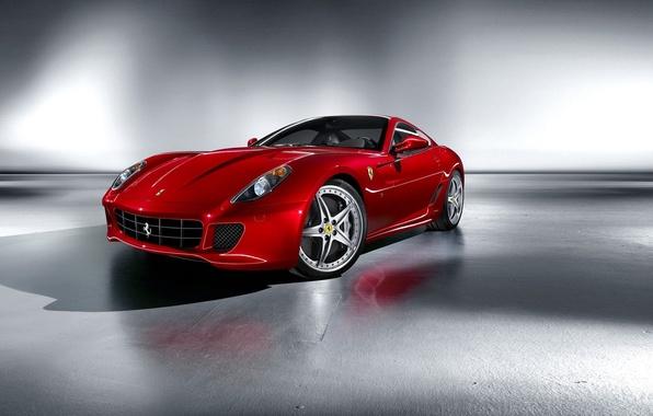 Picture red, Ferrari, sports car, Fiorano