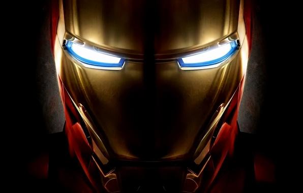 Picture the film, mask, helmet, iron man, movie, Iron man