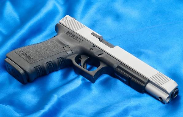 Picture Blue, Gun, Austria, Wallpaper, Background, Weapons, Gun, Glock, Glock, Wallpapers, Austria, Weapon, 20L, 20L