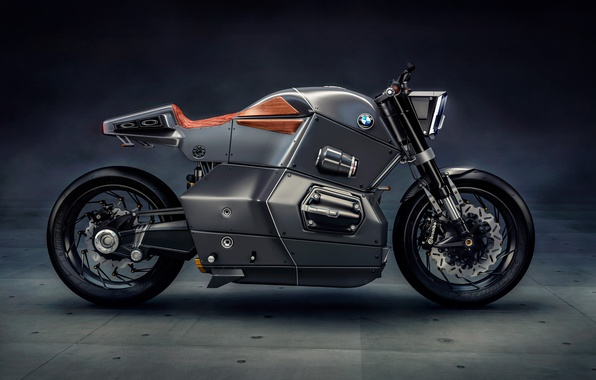 Photo wallpaper BMW, beautiful, technology, motorbike, beauty, strong, Bmw Urban Racer, bold design, motorcycle, futuristic