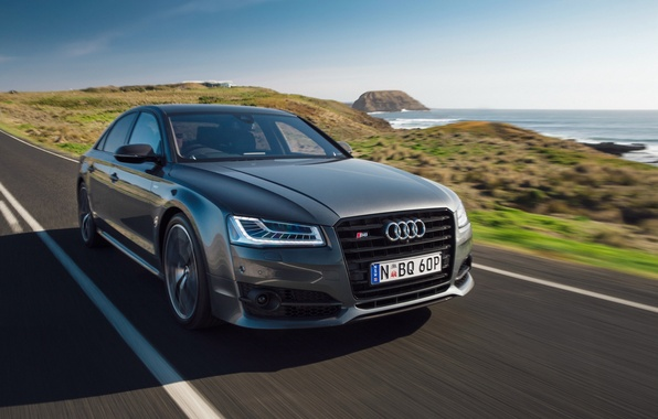 Picture car, Audi, Audi, speed, road, speed, More