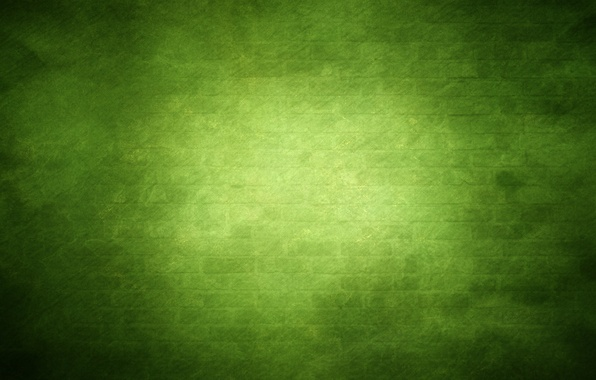 Picture green, wall, dark colors, glow, brick, texture