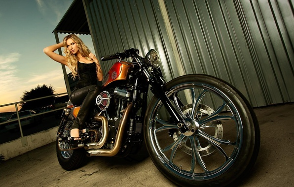 Wallpaper look girls sitting on the harley davidson forty eight photo wallpaper look girls sitting on the harley davidson forty eight beautiful sciox Image collections
