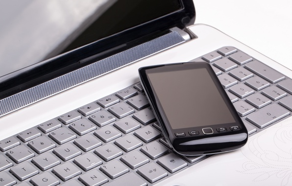 Picture notebook, cell, keyboard
