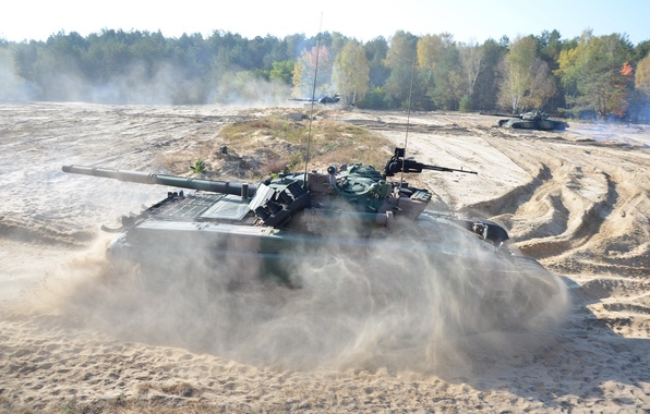 Picture weapons, army, tanks, pt-91