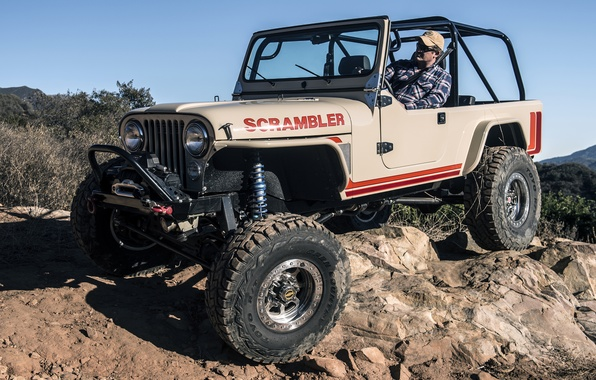 Picture jeep, SUV, Jeep, Scrambler, CJ-8