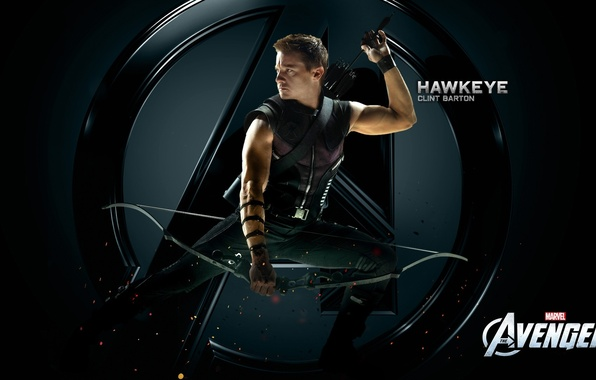 Picture bow, arrows, the Avengers, CLINT BARTON, HAWKEYE