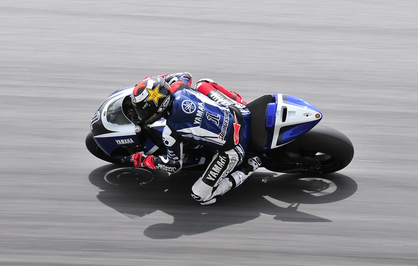 Picture Road, Sport, Speed, Asphalt, Motorcycle, Racer, Yamaha, MotoGP, In Motion
