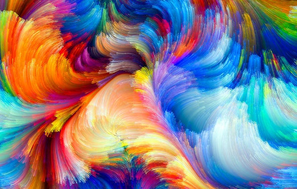 Picture pattern, paint, color, rainbow, colors, rainbow, the volume, pattern, spot, relief, color, size, spot, relief
