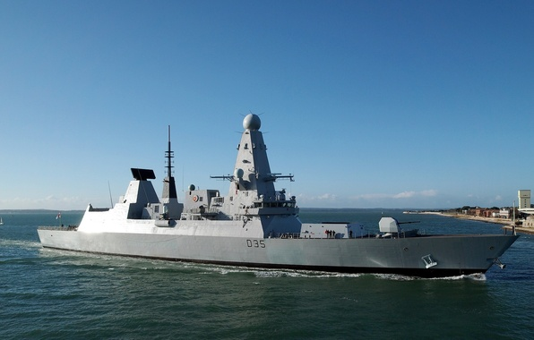 Picture weapons, ship, HMS Dragon