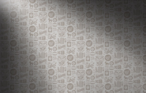 Picture labels, grey, background, texture