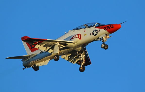 Picture aviation, the plane, Goshawk, T-45C