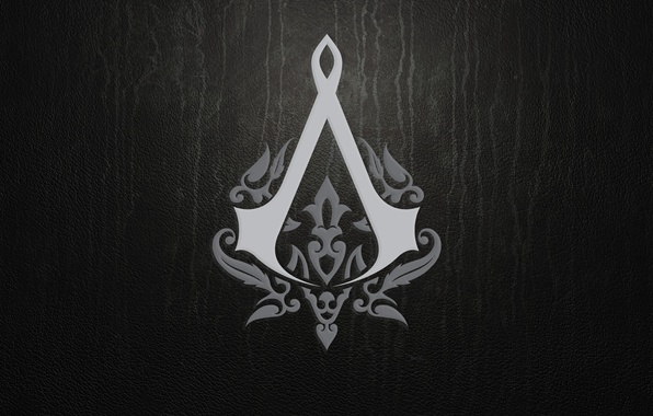 Picture sign, the game, texture, logo, leather, emblem, assassins creed