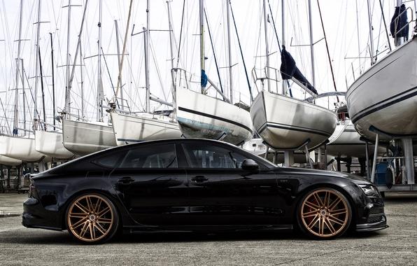 Picture Audi, Audi, wheels, vossen, Hamana