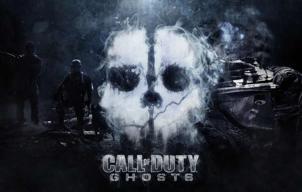 Wallpaper Ghost Activision Infinity Ward Call Of Duty Ghosts