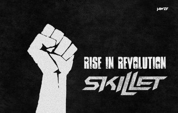 Picture music, song, Skillet, Revolution, John Cooper, jawzf, Rise, Christ, Joseph Kuriackal, Jesus