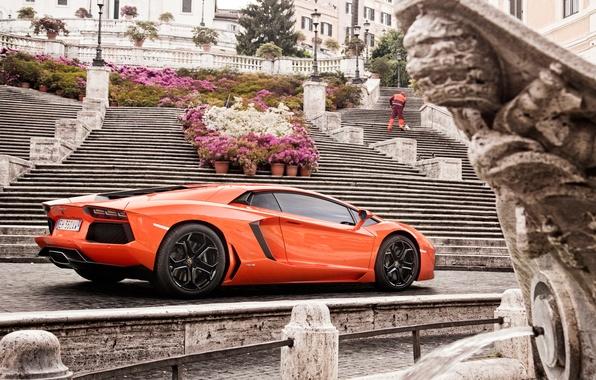 Picture machine, lamborghini, Lamborghini, aventador, lp 700-4