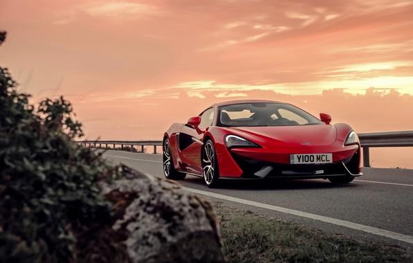 Picture sunset, McLaren, the evening, supercar, McLaren, 570S
