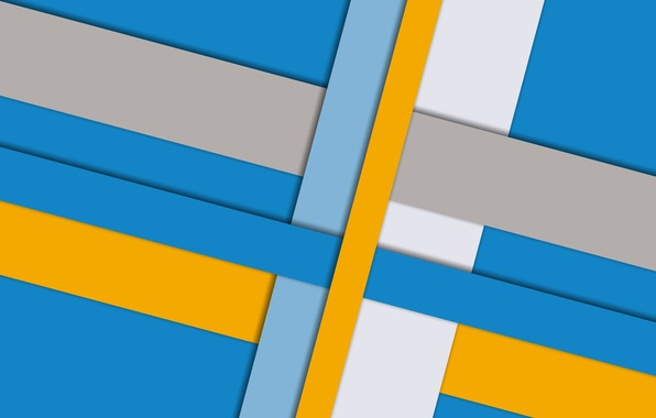 Picture white, line, yellow, blue, geometry, color, material, desing