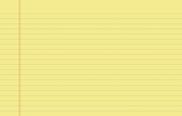 Picture line, yellow, sheet, strip, background, Wallpaper, field, texture, notebook, widescreen, wallpapers, page, notebook