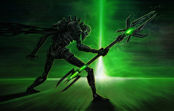 Picture energy, Warhammer 40k, Necrons, necrons, Lord nekron, necron lord