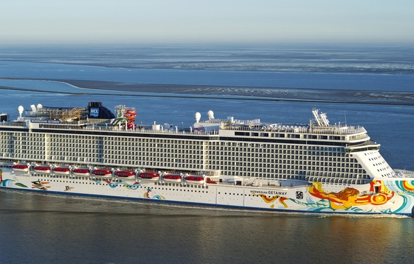 Picture photo, Sea, Ship, Cruise liner