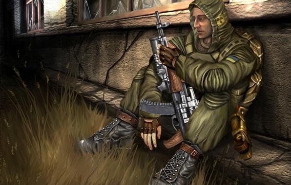 Picture Stalker, Stalker, Pripyat, area, shooter, tagged