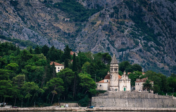 Picture church, Adriatic Sea, Montenegro, Kotor, Goodness