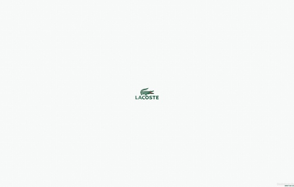 Picture firm, brand, lacoste