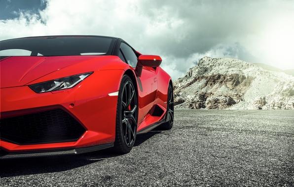 2016 Ford Trucks >> Wallpaper Lamborghini, Red, red, Lamborghini, 2015, Huracan, hurakan, LP 60-4 images for desktop ...