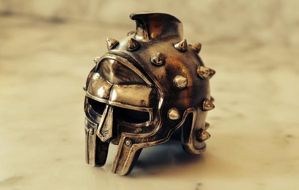Picture background, helmet, souvenir, Gladiator