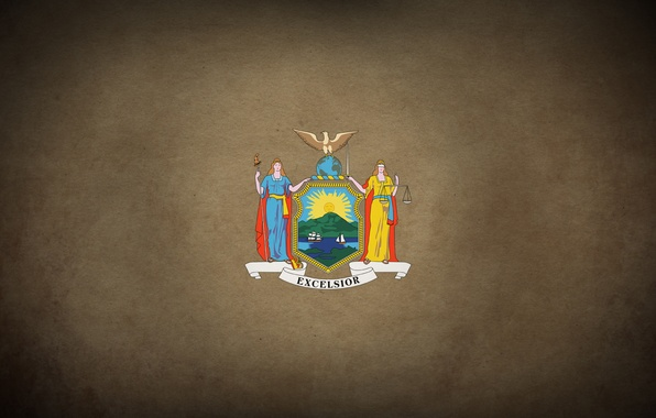 Picture city, flag, America, coat of arms, new york, america, new York, new, nyc, york, state, …