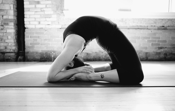 Wallpaper tattoo, pose, yoga images for desktop, section спорт  download