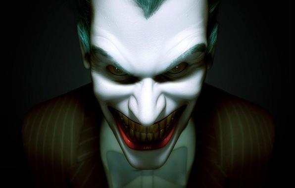 Picture Black, White, Joker