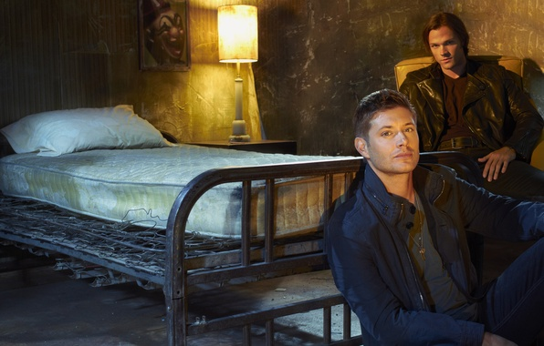 Picture Supernatural, series, Sam, Dean, The winchesters, promo
