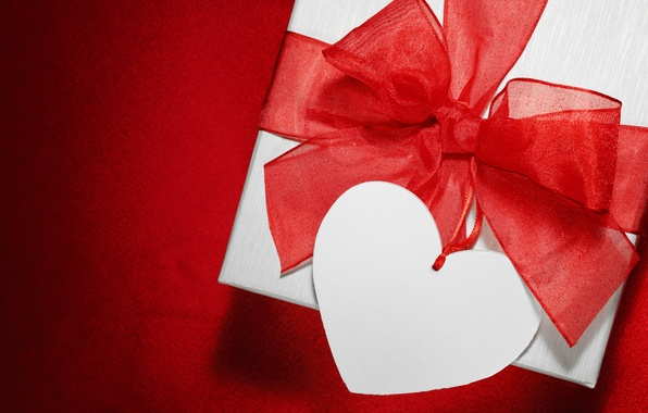Picture love, gift, heart, valentine's day