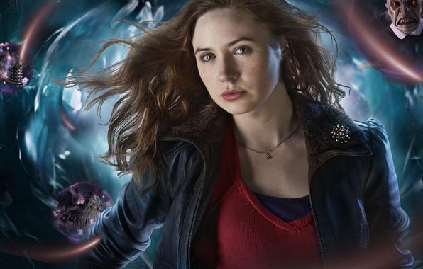Picture girl, the series, Doctor Who, redhead, Doctor Who, Karen Gillan, Karen Gillan
