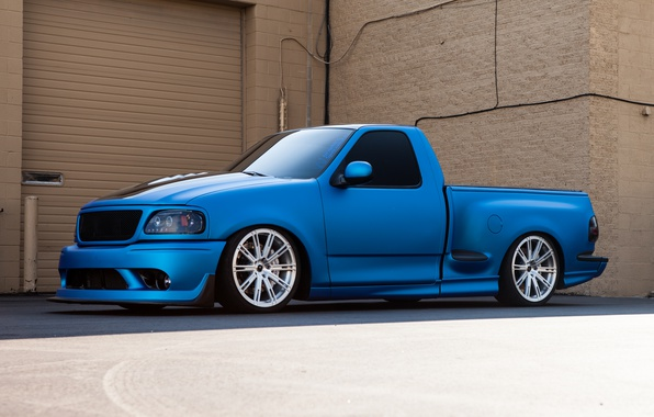 Wallpaper Ford Blue Lightning F 150 Images For Desktop Section