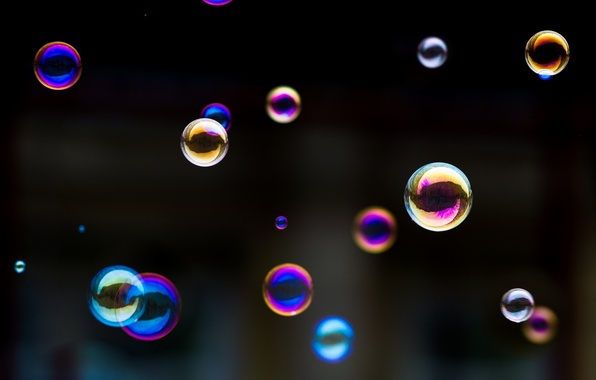 Picture Beautiful, The colors of the rainbow, Soap, Bubbles