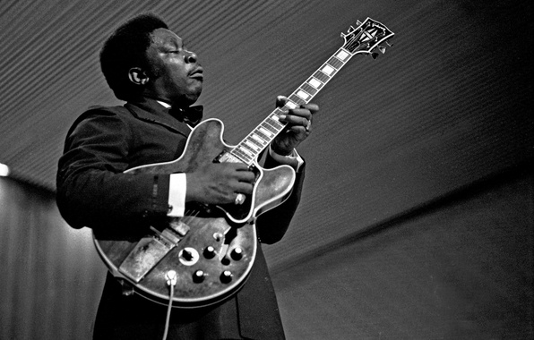 Picture the game, guitar, Blues, Lucille, B.B. King
