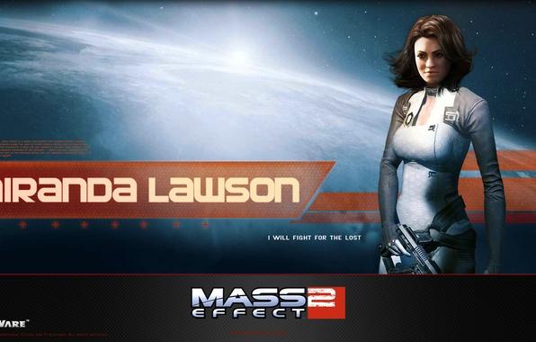 Picture space, gun, weapons, effect, bioware, mass, effect, miranda, Cerberus, Miranda, mass, cerberus, Lawson, lawson