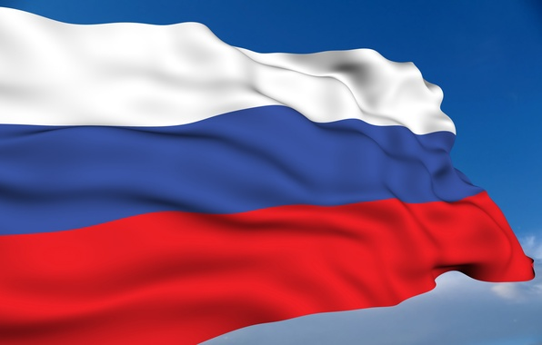 Picture flag, Russia, Patriotic Wallpaper