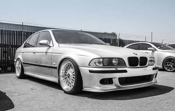 Picture BMW, sedan, tuning, 5 series, bmw m5, e39, frontside