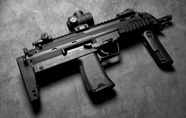 Wallpaper heckler koch mp7a1 the gun background for Koch 63 od manual
