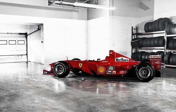 Picture formula 1, Ferrari, the car, Ferrari, Formula 1, F1-2000